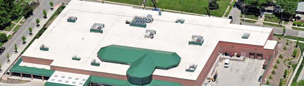 commercial roofing des moines