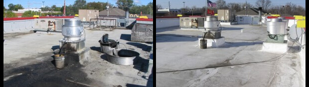 Commercial Re-Roofing Des Moines