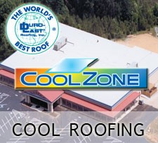 Cool Roofing - Duro Last Cool Zone Roof