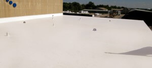 Office Building Flat Roofing Company Des Moines