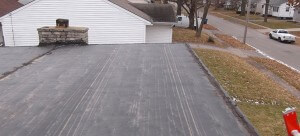 Before and After Durolast roofing photos